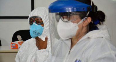 4.488 profissionais da saúde já foram infectados pela Covid-19 no estado