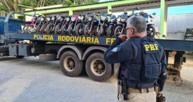 Polícia Rodoviária Federal apreende mais de 100 motocicletas irregulares no MA