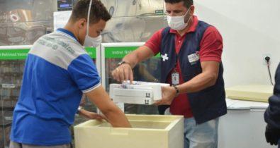 Maranhão recebe mais 17.550 doses da vacina contra Covid-19 da Pfizer