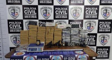 Mais de 90kg de pasta base de cocaína são apreendidos em Barra do Corda