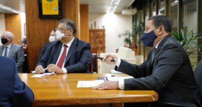 Governador Flávio Dino se reúne com Mourão para discutir ações para a Amazônia