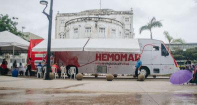 HEMOMAR promove Junho Vermelho