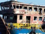 Vídeo: Ferry boat pega fogo em alto mar entre São Luís e Baixada Maranhense