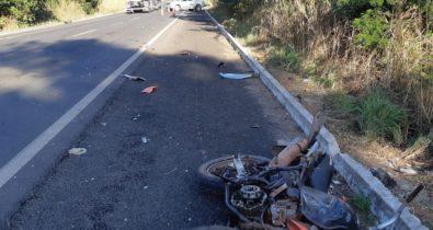 Duas pessoas morrem em acidentes nas rodovias federais do Maranhão
