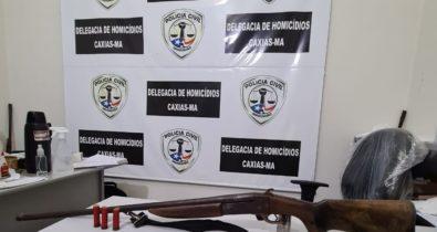 Homem é preso em flagrante por homicídio em Caxias