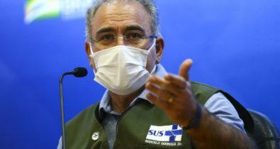 Queiroga convoca brasileiros a tomar segunda dose da vacina
