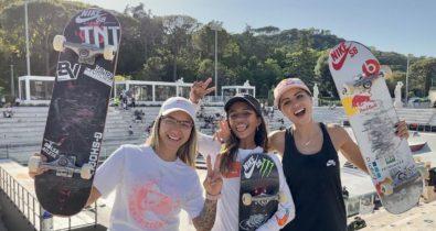 Trio brasileiro vai à final do Mundial de Street e estará em Tóquio