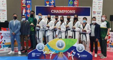 Taekwondo: Brasil fatura 13 medalhas no primeiro dia do Pan no México