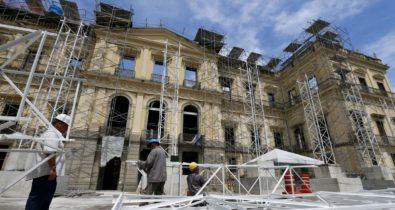 Museu Nacional prevê concluir obras na sede ainda este ano
