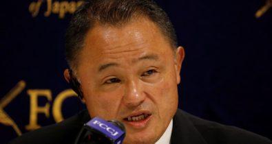 """Olimpíada: """"não há maneira de impedir chegada do vírus"""", diz Yamashita"""