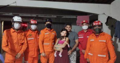 Bebê recém-nascido se engasga e é salvo por bombeiros em Chapadinha