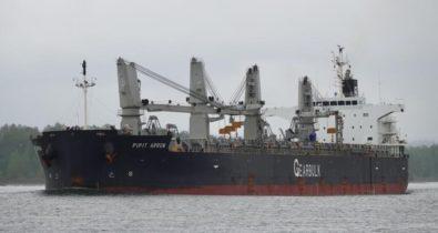 Navio é colocado em quarentena após tripulante testar positivo para a Covid-19 em São Luís