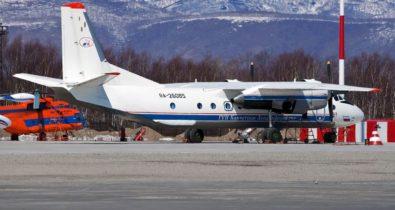 Avião cai no extremo leste da Rússia