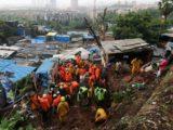 Deslizamentos de terra deixam ao menos 30 mortos em Mumbai
