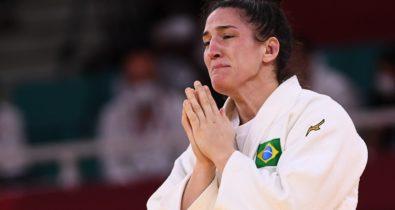 Mayra Aguiar conquista medalha de bronze para o Brasil no judô