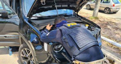 PRF apreende veículo adulterado na BR-135 em São Luís