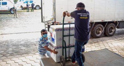 Maranhão recebe 511.390 doses de vacinas contra a Covid-19