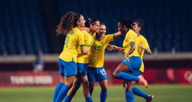 Futebol feminino vence a Zâmbia e pega o Canadá nas quartas