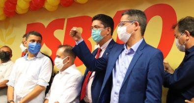 Governador Flávio Dino preside ato de filiação partidária do PSB no Maranhão