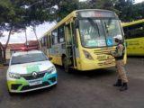 Frota de ônibus passa por fiscalização em São Luís
