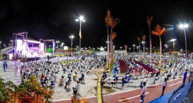 Celebração de acolhida do novo arcebispo Dom Gilberto Pastana é realizada em São Luís