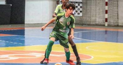 Semifinais do Estadual Sub-12 de futsal ocorrem nesta sexta-feira