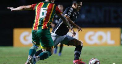Sampaio é derrotado pelo Vasco e perde série invicta na Série B