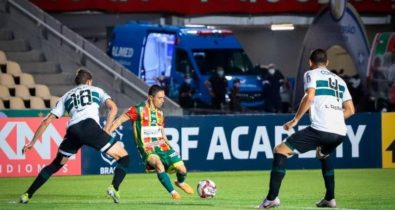 Sampaio é derrotado pelo Coritiba e perde vaga no G-4 da Série B