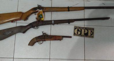 Homem é preso por posse ilegal de arma de fogo em Codó