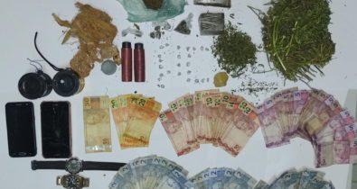 Homem é preso suspeito de tráfico de drogas em Paulino Neves