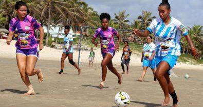 Esporte na Minha Cidade: oito jogos movimentam Fut7 Beach Feminino