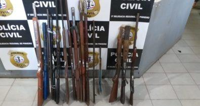 Fábricas clandestinas de arma de fogo são desativadas em povoados no Maranhão