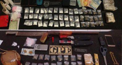Operação desarticula grupo suspeito de tráfico de drogas em Porto Franco