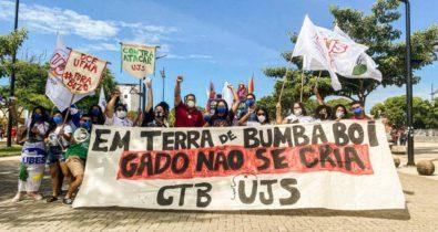 Manifestantes realizam ato contra Bolsonaro em São Luís