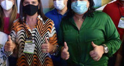 Vereadora Karla Sarney(PSD) prestigia posse da ex-governadora Roseana Sarney