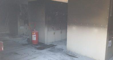 Incêndio é registrado em Parque Eólico do município de Paulino Neves