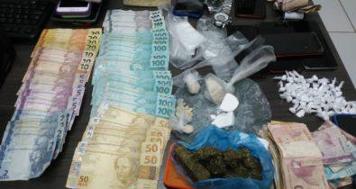 Duas pessoas são presas por tráfico de drogas em Bacabal