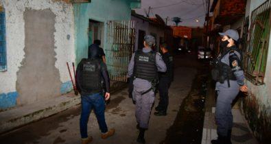Operação conjunta prende dois suspeitos de tráfico de drogas e crime organizado no Coroadinho