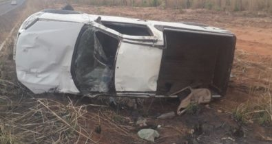 Mãe e filho morrem em acidente na BR-230, em Riachão