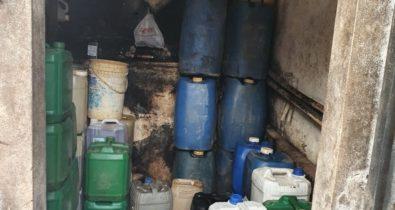 Homem é preso suspeito de vender combustível de forma clandestina na Vila Maranhão