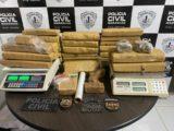 Polícia apreende 30 quilos de drogas em São Luís