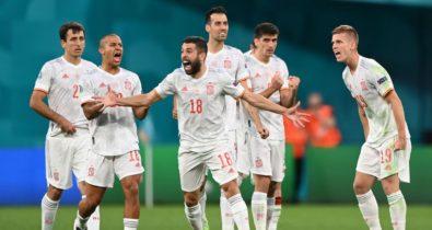 Espanha vence Suíça nos pênaltis e avança às semifinais da Eurocopa