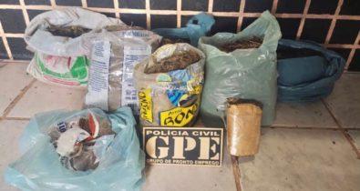 Homem é preso com 6 kg de maconha em Amarante