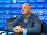 Felipão é apresentado como novo treinador do Grêmio