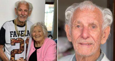 """Vô Nelson, do casal """"Vovôs do TikTok"""", morre aos 90 anos após acidente doméstico"""