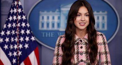 Cantora Olivia Rodrigo vai à Casa Branca para incentivar vacinação