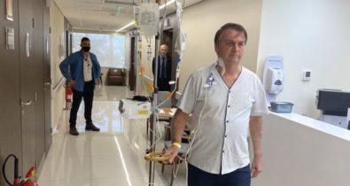 Quadro de saúde de Bolsonaro evolui, mas sem previsão de alta