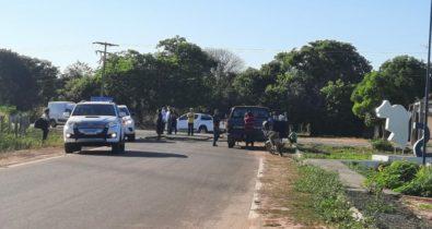 Indígenas protestam na BR-226 após atropelamento de criança
