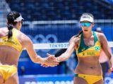 Agatha e Duda derrotam argentinas em estreia em Tóquio
