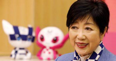 Olimpíadas: Governadora de Tóquio promete sistema de saúde pronto